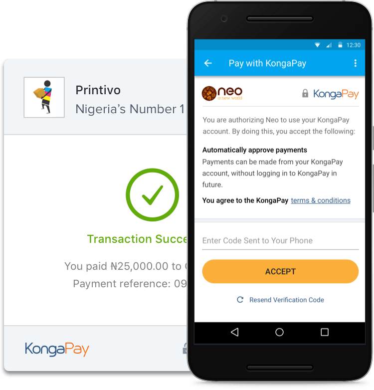 KongaPay - Online Payment | Pay Bills | Make Transfers